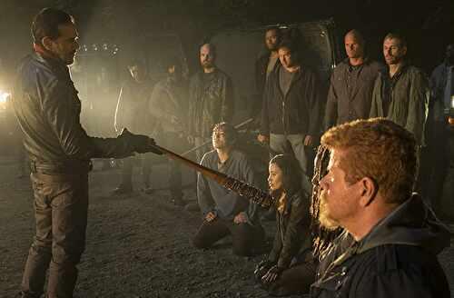 ウォーキングデッドシーズン7 1話 グレン死亡シーン